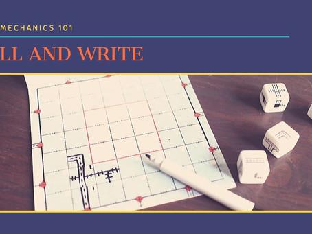 Roll and Write: Game Mechanics 101