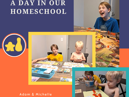 A Day in Our Homeschool 3