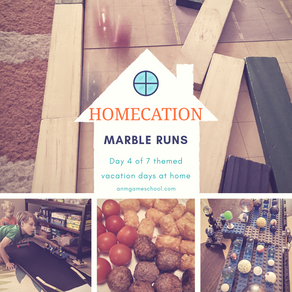 "Summer ""Homecation"" 2020 - Marble racing"