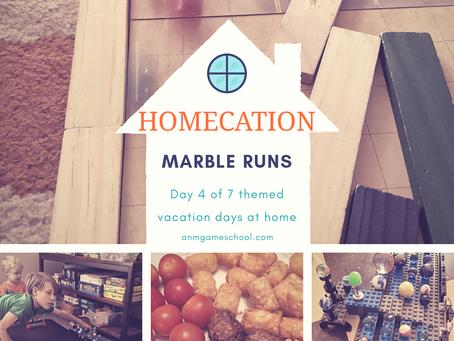 "Summer ""Homecation"" 2020 - Marble racing"