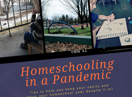 Tips for Homeschooling in a Pandemic