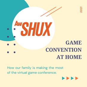 AwSHUX Game Con at Home 2021