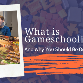 What is Gameschooling and Why You Should Do It