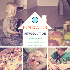 """Summer """"Homecation"""" 2020 - Introduction"""