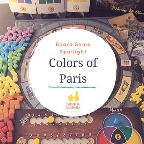 Board Game Spotlight: Colors of Paris