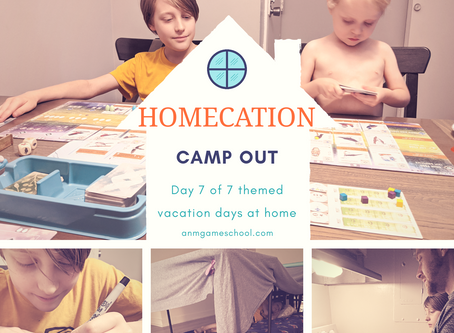 "Summer ""Homecation"" 2020 - Camp Out"