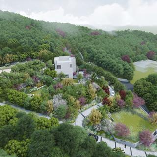Ui-dong House garden