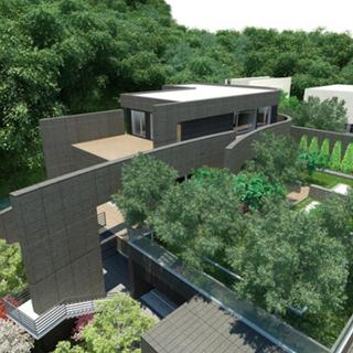 Yongin S-House garden