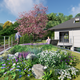 Uiwang House garden