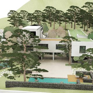 Bonha village House garden