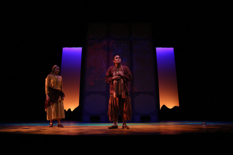 from WHERE THE MOUNTAIN MEETS THE MOON at South Coast Repertory (Photos by Jordan Kubat)