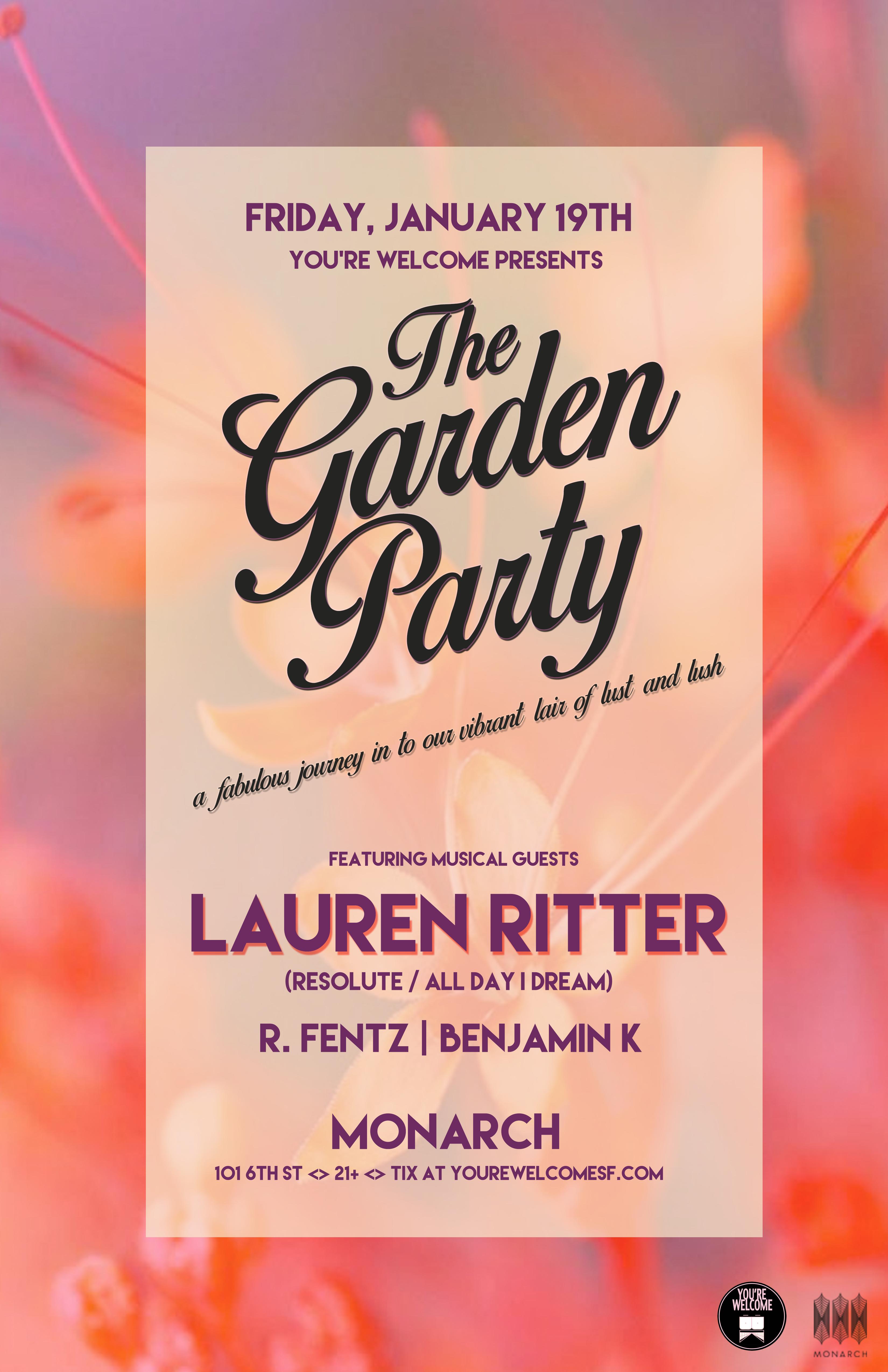 Lauren Ritter Garden Party