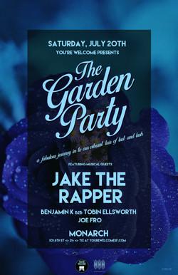 Jake The Rapper Garden Party 11x17 2
