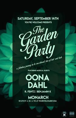 Oona Dahl Garden Party 11x17