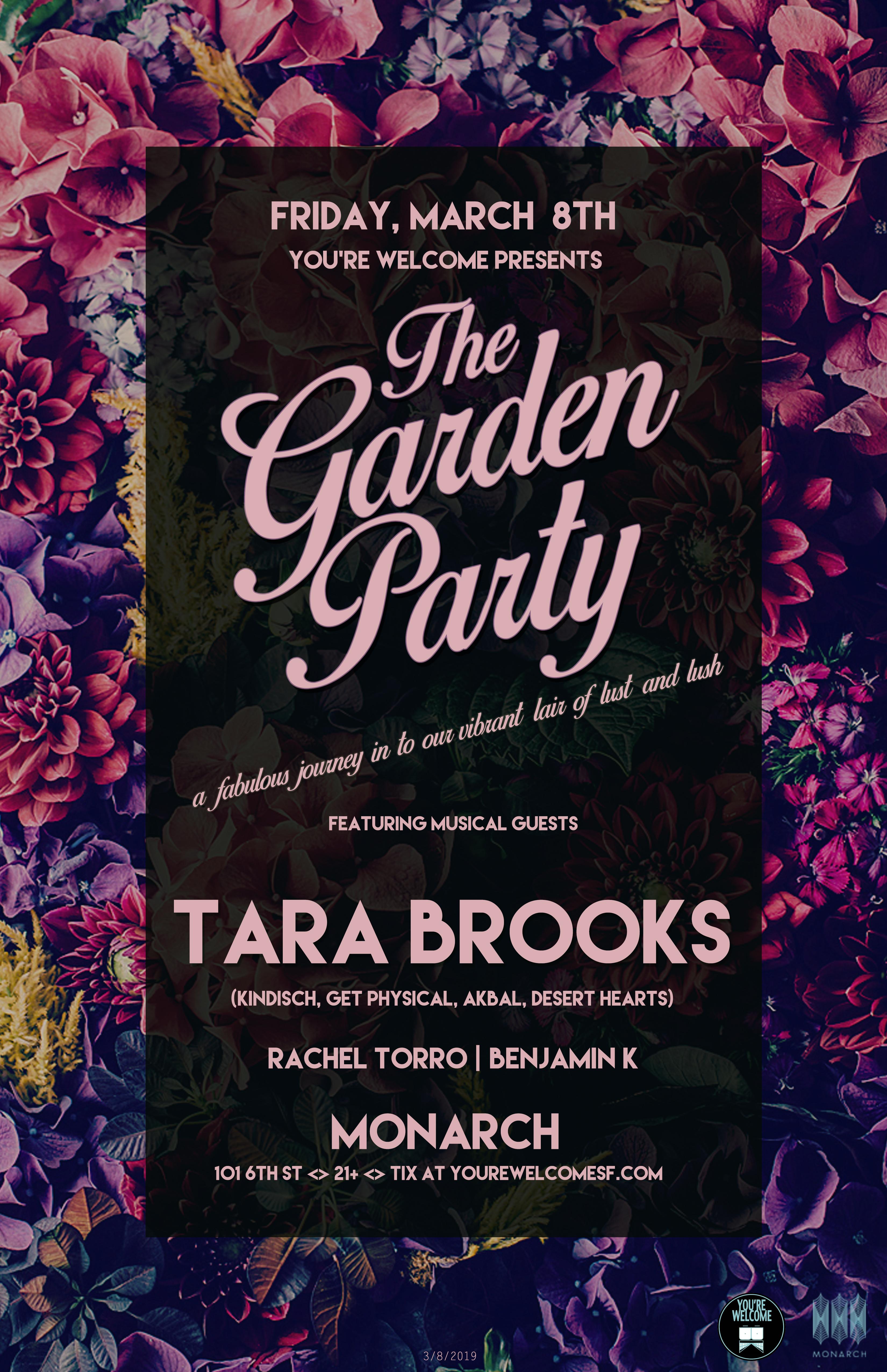 Tara Garden Party 11x17