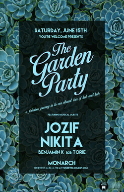 Jozif & Nikita Garden Party 11x17