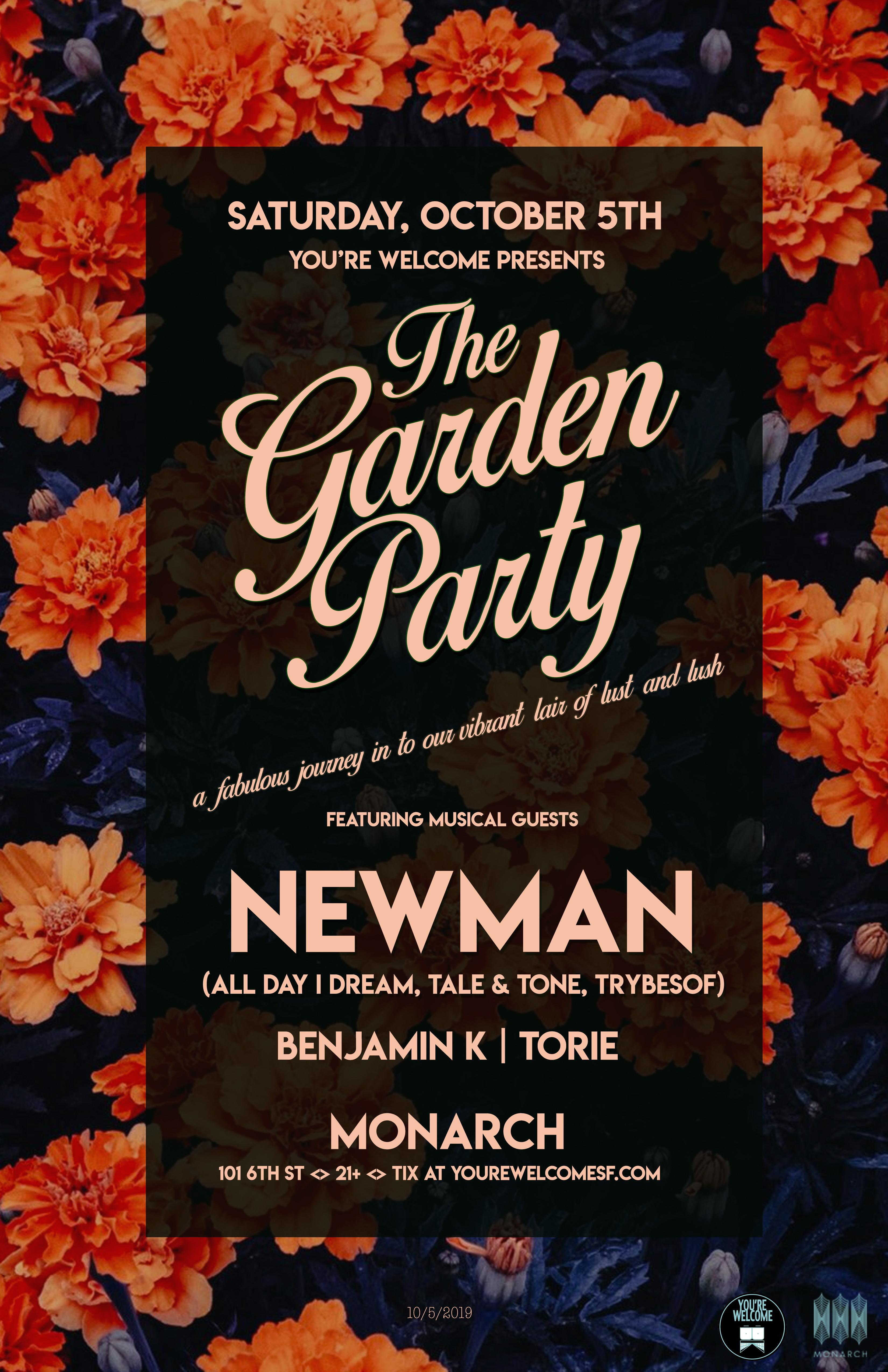 Newman Garden Party 11x17