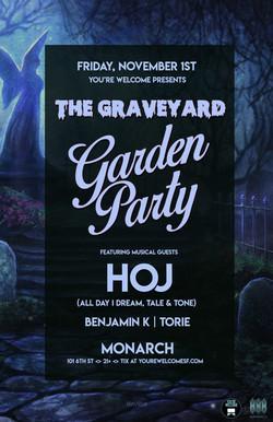 Graveyard Garden Party 11x17