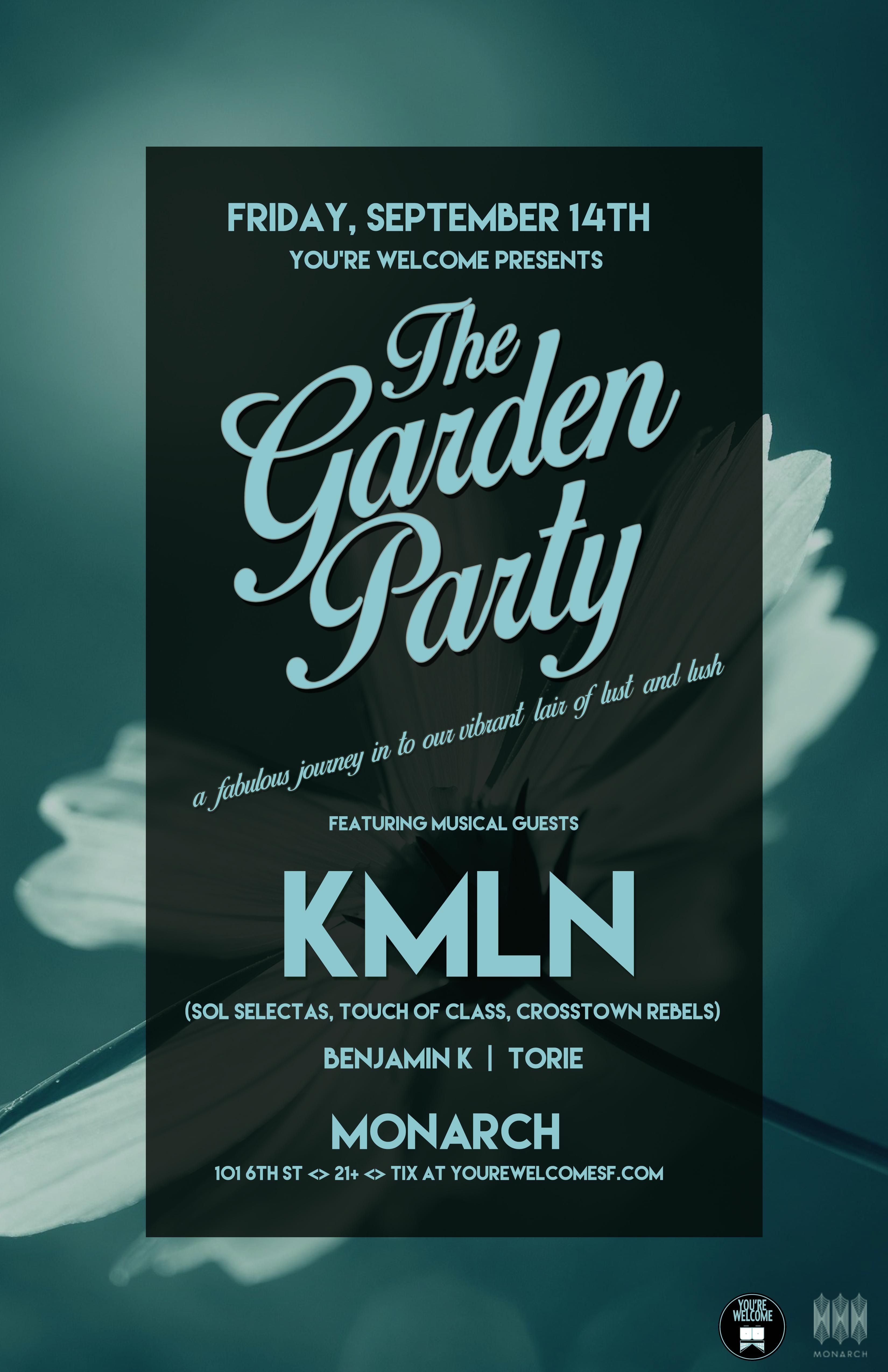 KMLN Garden Party 11x17