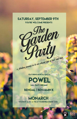 Garden Party Powel
