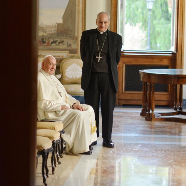 Papa Francisco y Monseñor Sánchez Sorondo