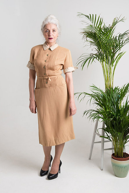 VINTAGE VERA 40'S DRESS