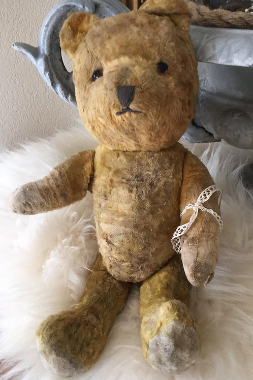 Oude teddy beer
