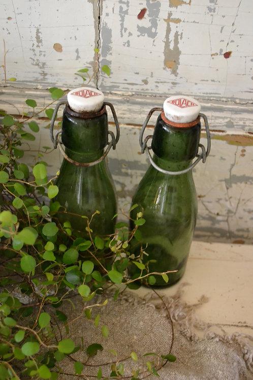 Frans groen flesje