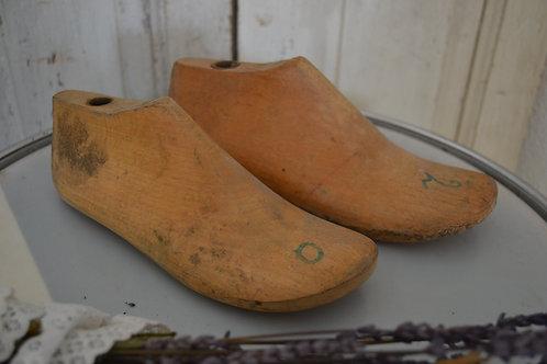 Set houten schoenenmal