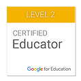 Badge GOOGLE EDUCATOR gage de qualité