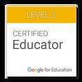 Badge GOOGLE EDUCATOR gage de qualité