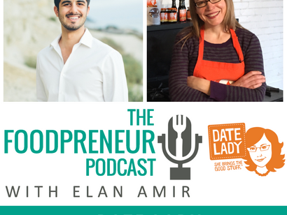 Date Lady on The Foodpreneur!
