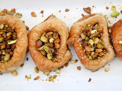 Vegan Bird's Nest Baklava by The Jaroudis