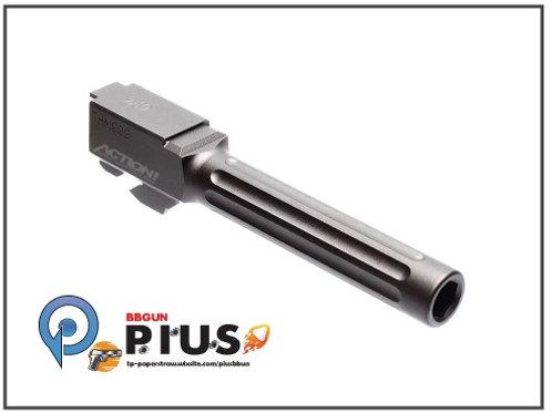 Ace 1 Arms - MaruiWE G17系列專用 專用溝槽外管 (黑色)