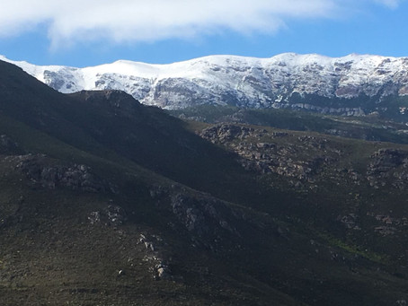 Chasing snow in Africa - and why you should too.