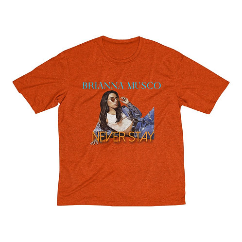 Never Stay Heather Dri-Fit Tee