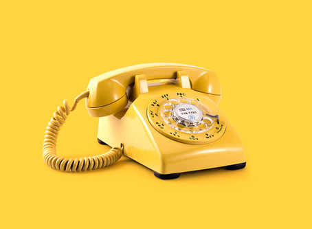 The Old-Fashioned Phone