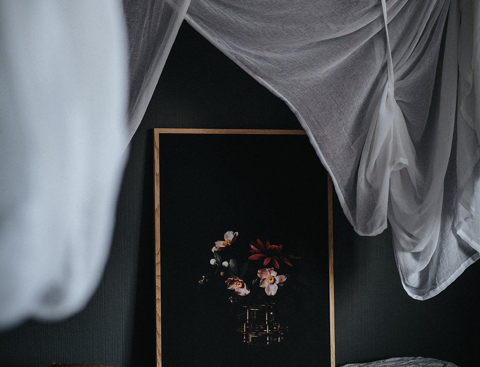 Black Blush 50x70cm