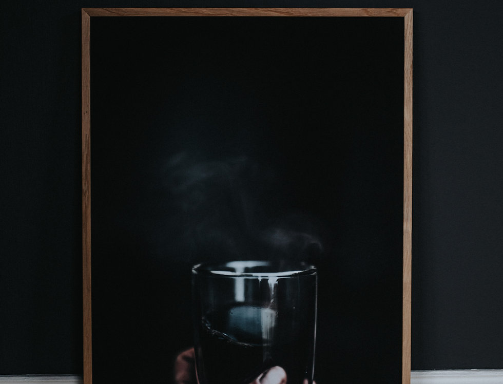 Black Coffee 50x70cm