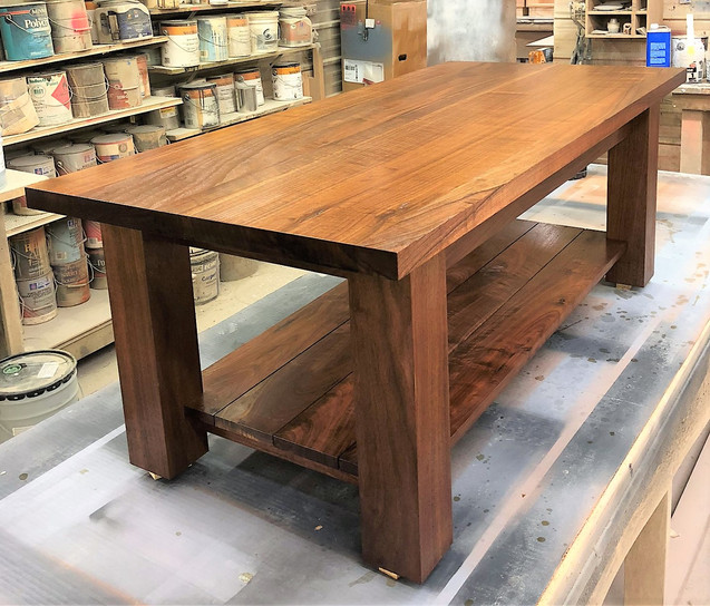 Coffee Table with Hidden Gun Pull Out 2.
