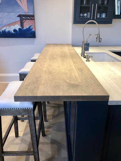 Solid Maple Bar Top