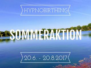 HypnoBirthing Sommeraktion
