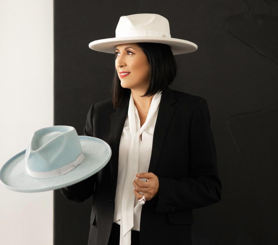 PROFILE: Q&A With Hat Designer Gladys Tamez