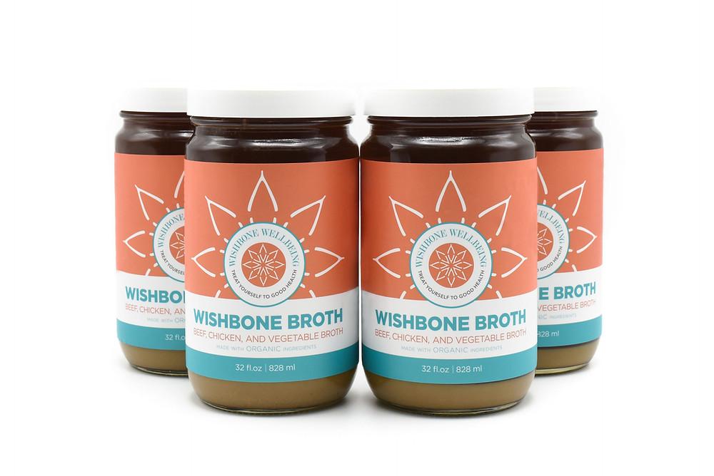 Wishbone wellbeing bone broth