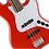 Thumbnail: SQUIER Affinity Jazz Bass Red