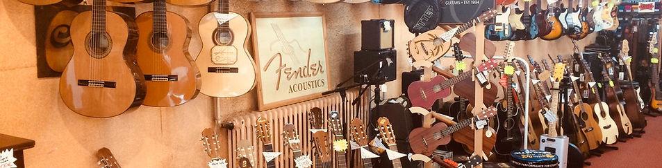 Mur de Guitares chez Piano Valat
