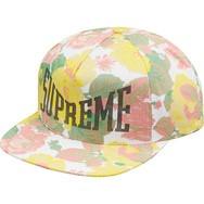 Supreme Floral Hat White e7d82b25412
