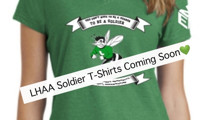 Lady's LHAA Soldier T-Shirt