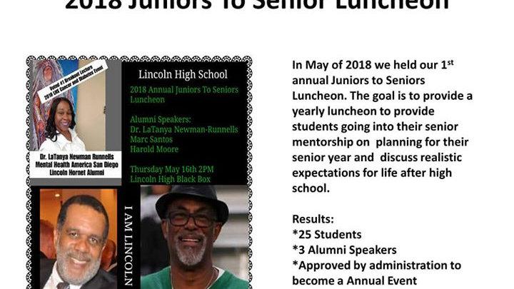 LHAA & Reel Teens Juniors To Seniors Luncheon