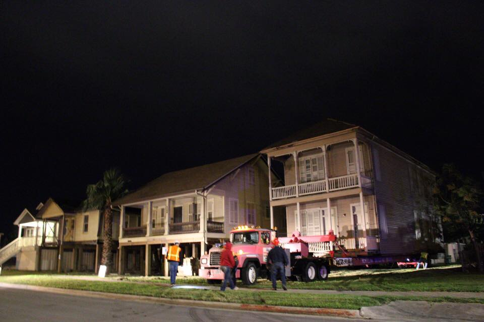 3 homes saved and moved for Galveston Historical Foundation